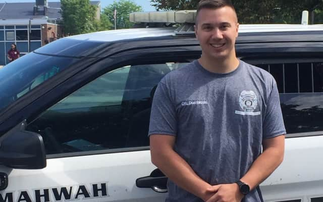 Mahwah Police Officer Michael Dombroski