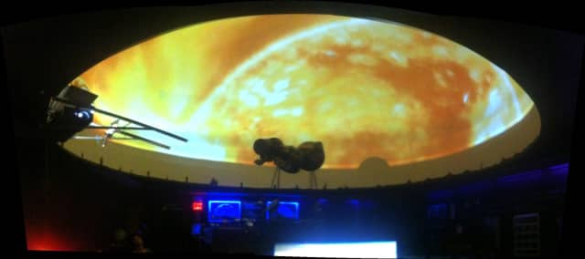 "The Fair Lawn High School Planetarium will show the movie, ""Extra Solar Planets - Discovering New Worlds"" three times May 31."