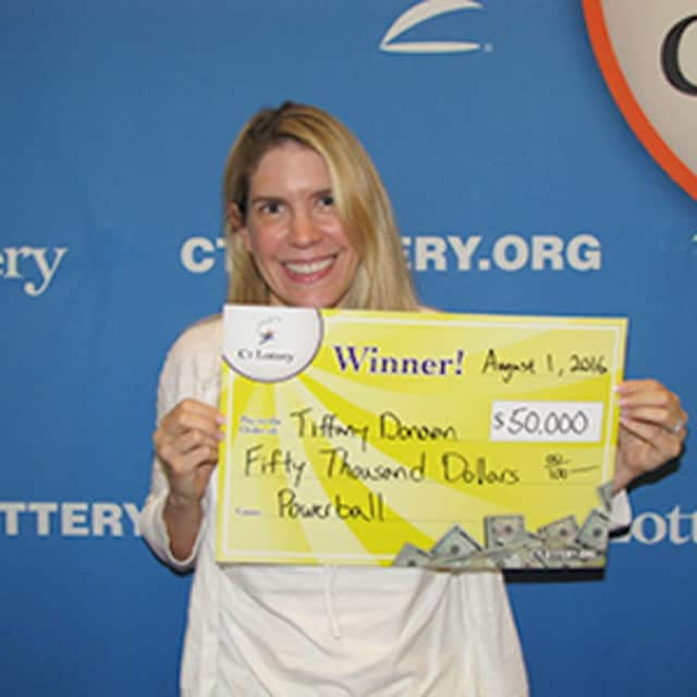 Tiffany Donovan bought her winning ticket at Weston Hardware & Houseware located on 190 Weston Road in Weston.