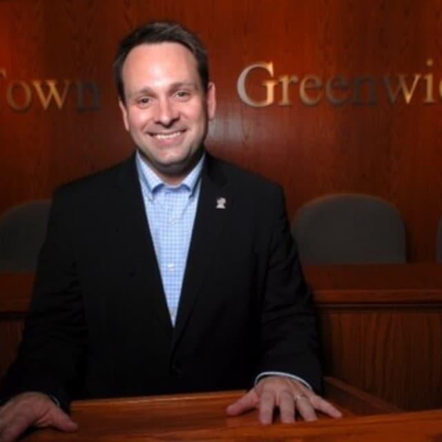 Greenwich Selectman Drew Marzullo