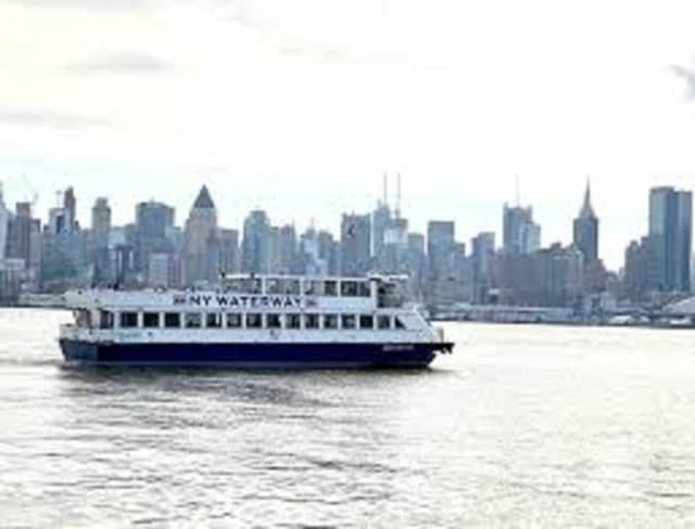 A NY Waterway ferry