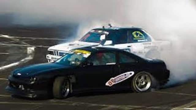 A police officer in Harrison helped break up an illegal drag racing ring.