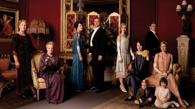"Cast photo of PBS' ""Downton Abbey"""