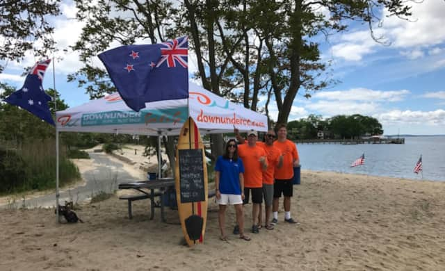 Downunder Kayak And Paddle Board is coming to Weed Beach in Darien.