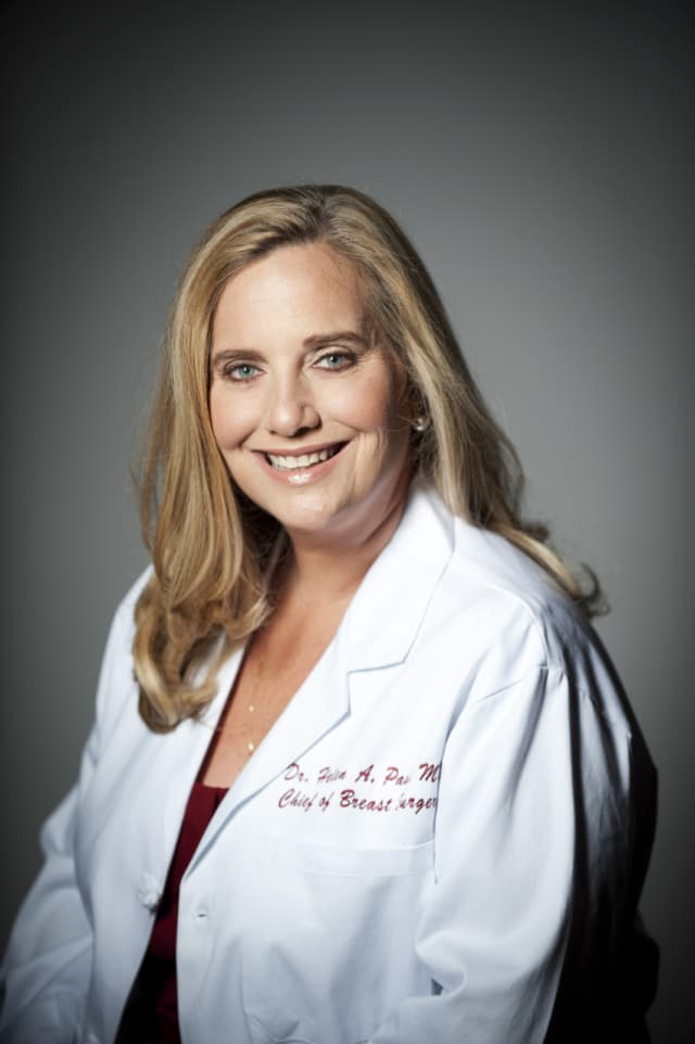 Dr. Helen Pass, MD, director of breast surgery and co-director, Women's Breast Center at Stamford Hospital.