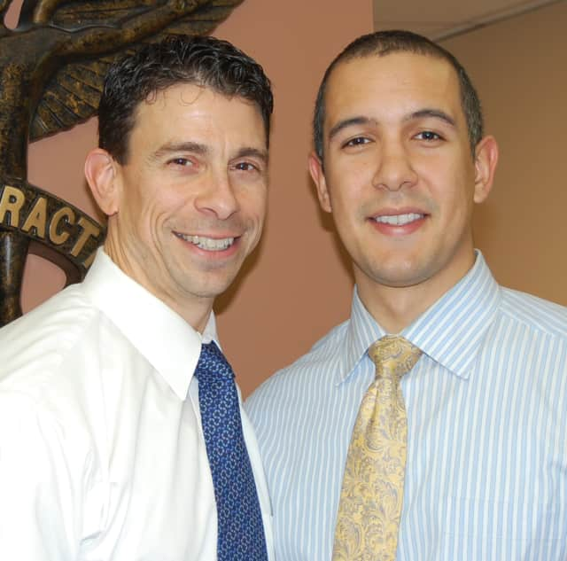 Dr. Michael Cocilovo and Dr. Gil Rodriguez