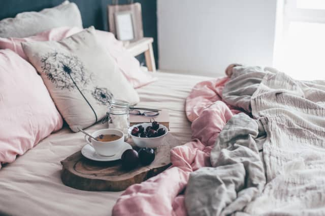 The epitome of hygge (cozy contentment).