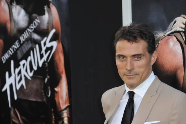 Rufus Sewell at the premiere of his movie Hercules at the TCL Chinese Theatre, Hollywood.