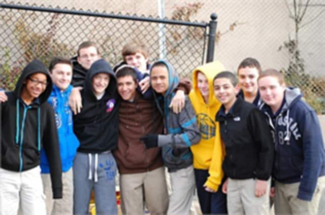 Students at Lyndhurst's Roosevelt School.