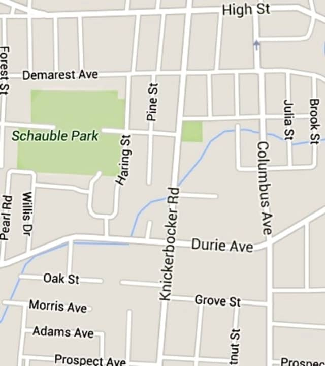 The crash occurred at the intersection of Durie and Columbus avenues.