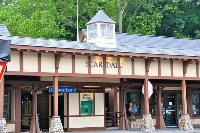 A man was struck by a train in Scarsdale, prompting delays on the Harlem Line.