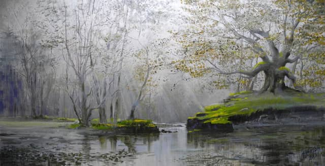 """Tim Eaton: Meditation on Landscapes"" opens Tuesday at the Geary Gallery in Darien."