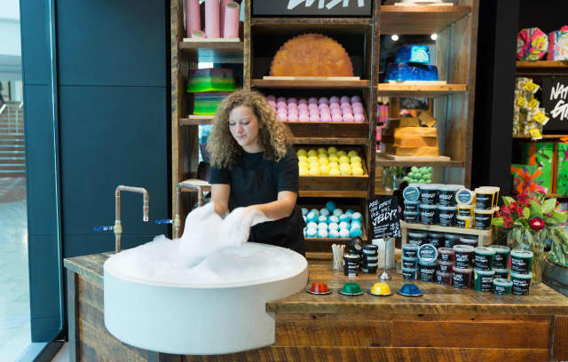 Lush Cosmetics is opening a store in the Willowbrook Mall Friday.