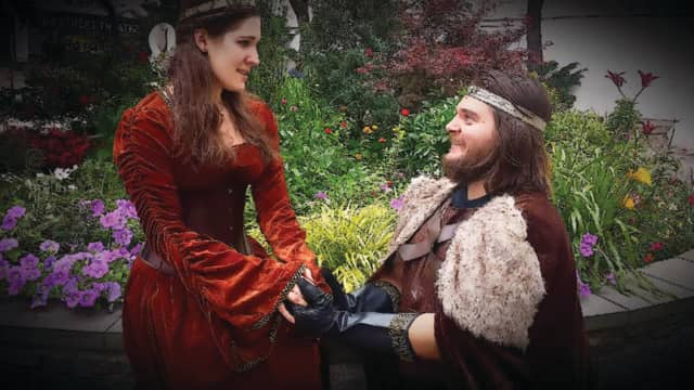 "The City of Hackensack Summer of Entertainment will perform Shakespeare in the Park: ""Edward III"" July 27."
