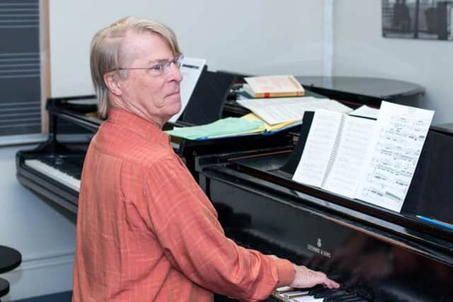 "Edmund Niemann directs Hoff-Barthelson's Festival of Contemporary Music, ""Music of Our Time."" The festival concludes Sunday."