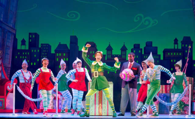 "Go see ""Elf"" Dec. 13 in New York City with the Wayne Parks and Recreation Department."