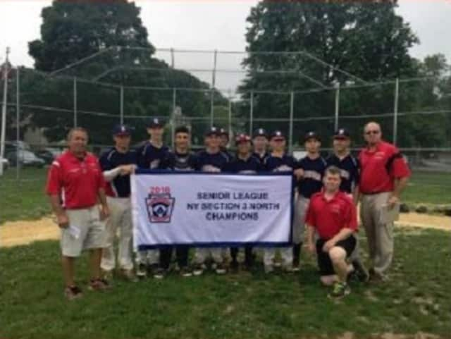 The Elmsford Little League Seniors won the state title.