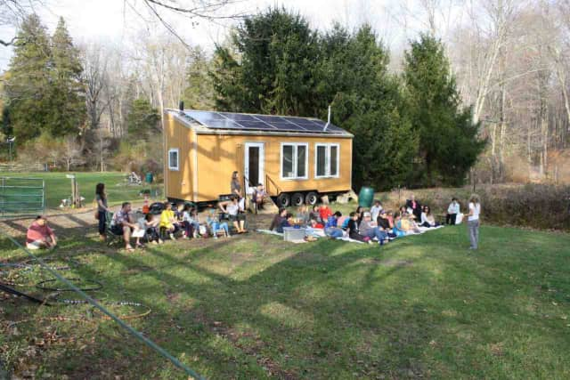 The Earth School EnviraPod will be on display during the Ossining 6th annual Earth Day Festival on April 16.