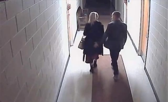 Screen shot from surveillance video obtained by Daily Voice.