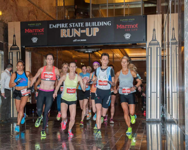 Pelham resident Patrick Coughlin was one of only 75 runners selected via lottery to participate in the 2016 Empire State Building Run-Up, presented by Marmot, an outdoor clothing and equipment company.