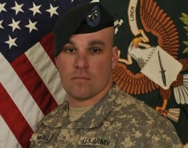 Army Staff Sergeant Timothy McGill of Ramsey was killed in action in Afghanistan 2013.