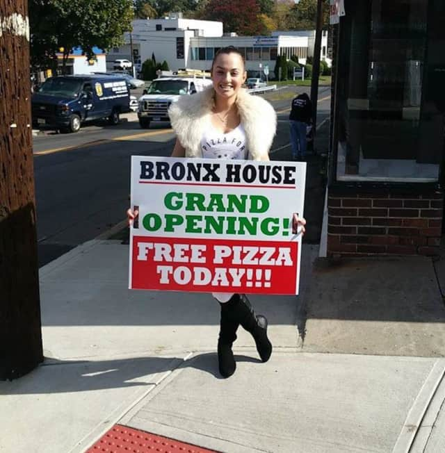 You can grab a slice or sit down for regular or Sicilian pie at Bronx House Pizza Pie in Stamford.