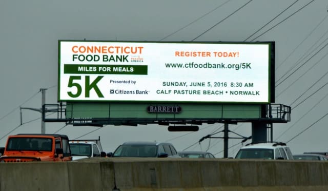 Volunteers are needed for the Connecticut Food Bank Miles For Meals 5K June 5 in Norwalk.