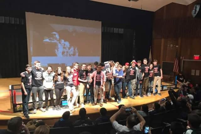 A GoFundMe was set up to raise $20,000 to send three Masuk High School robotics teams to a world championship in Lousiville, Ky.