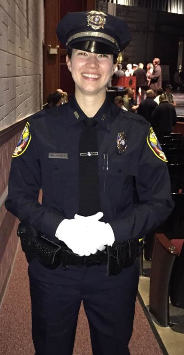 Gabrielle DiTullio is the newest member of the Bethel Police Department.