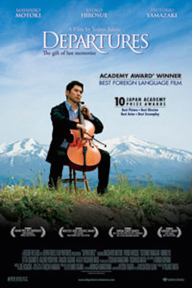 "The film, ""Departures,"" will be shown Saturday, Feb. 20 at Katonah United Methodist Church."