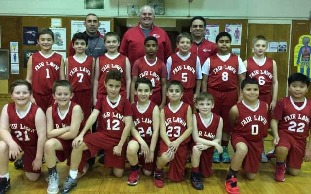 The Fair Lawn All-Sports Fourth Grade Boys Travel Basketball team went 11-3 this season.