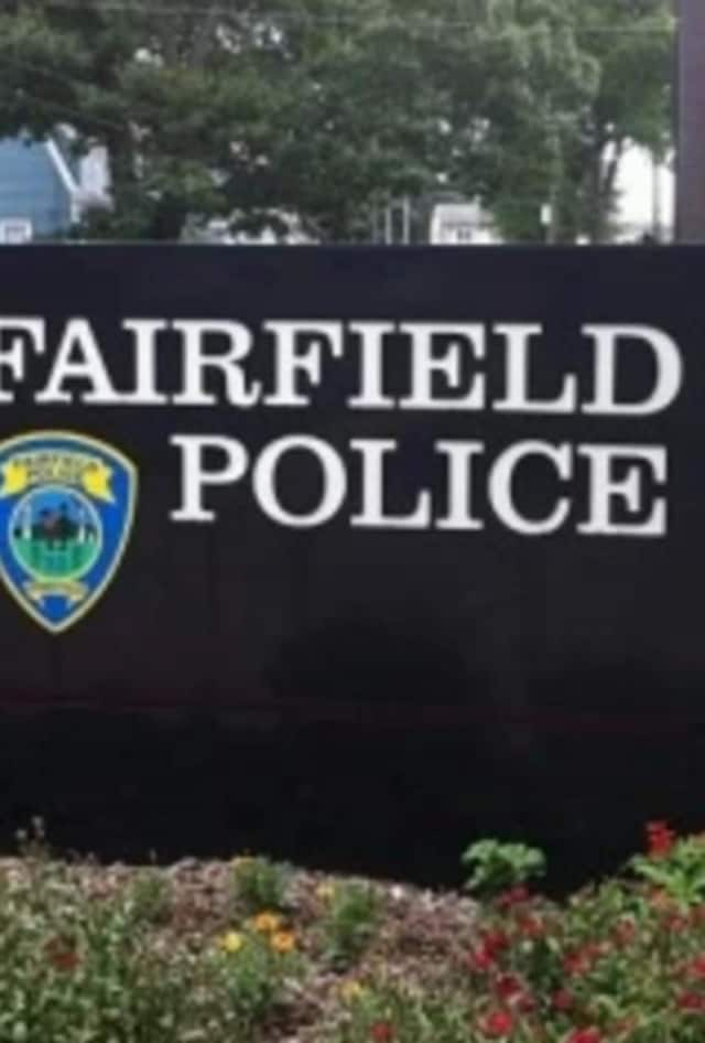 Fairfield police sign