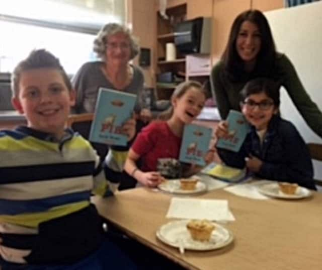 Parkway School fourth graders participate in a family book club.