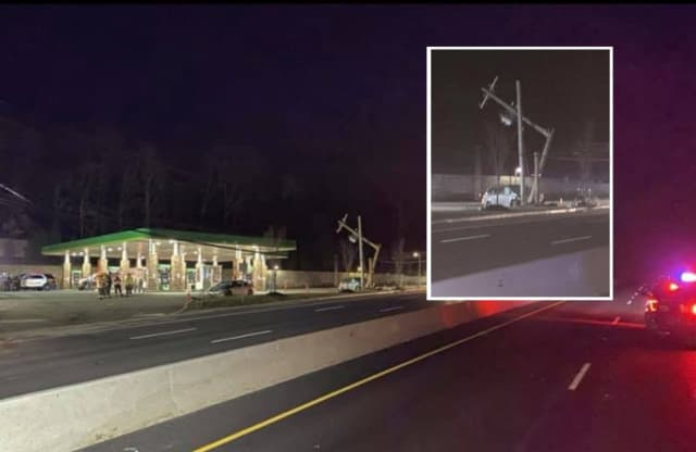 Northbound Route 17 in Ramsey remained closed for several hours following the crash.