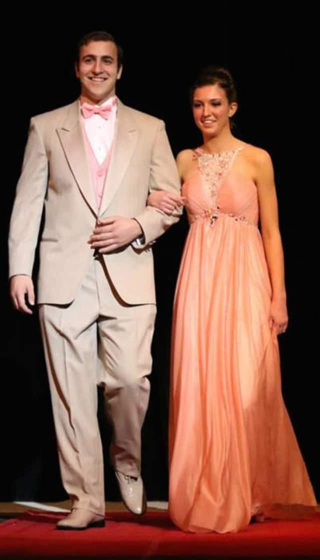 Students from Norwalk High show their style at a fashion show to raise funds for a post-graduation party in June.