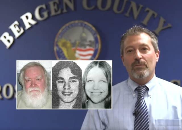 Richard Cottingham, Lorraine Kelly, Mary Ann Pryor, Bergen County Prosecutor's Chief of Detectives Robert Anzilotti