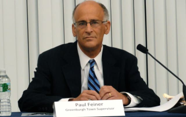 A White Plains man was convicted of sending anti-semitic emails to Greenburgh Town Supervisor Paul Feiner, shown here.