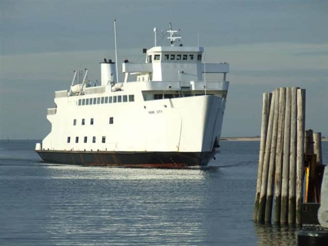 The body was found in the water at the end of the public safety dock for the Bridgeport-Port Jefferson ferry in Bridgeport.