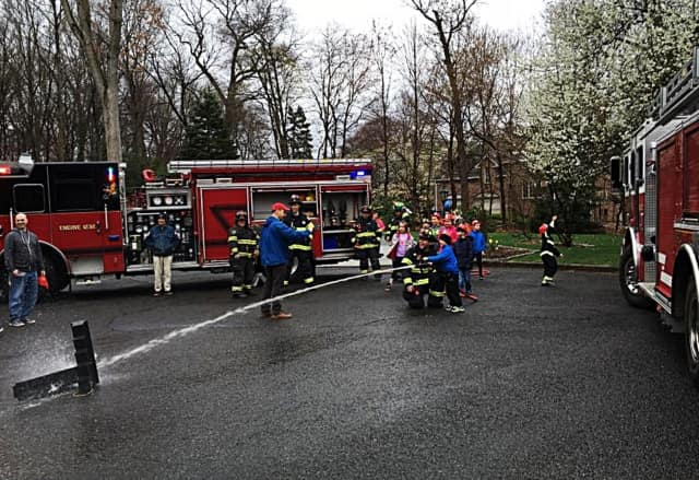 a fire fighter birthday party