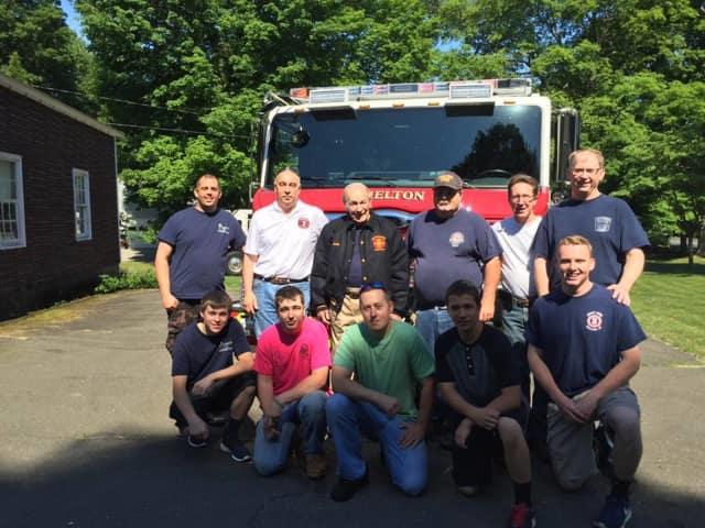 Shelton Huntington Fire Company 3 celebrates a 60-plus years member.