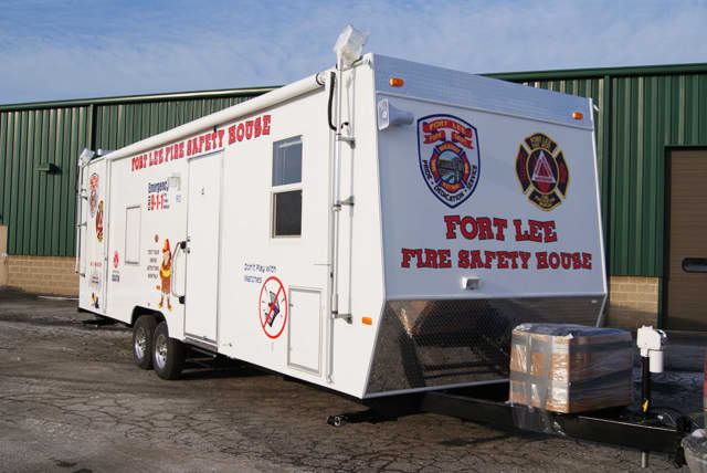 The Fort Lee Fire Safety House is one of the many demonstrations planned in Edgewater.