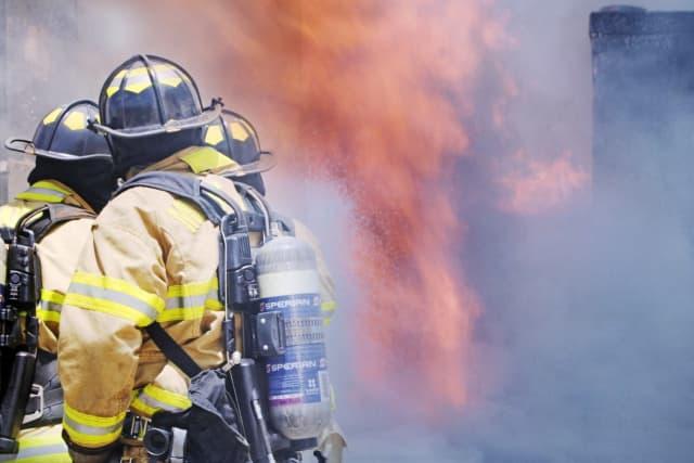 Fire photo illustration