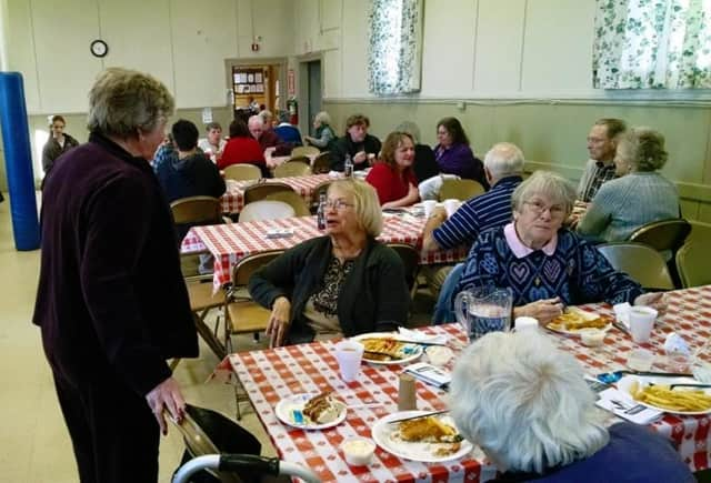 Waldwick United Methodist Church is hosting a fish and chips dinner.