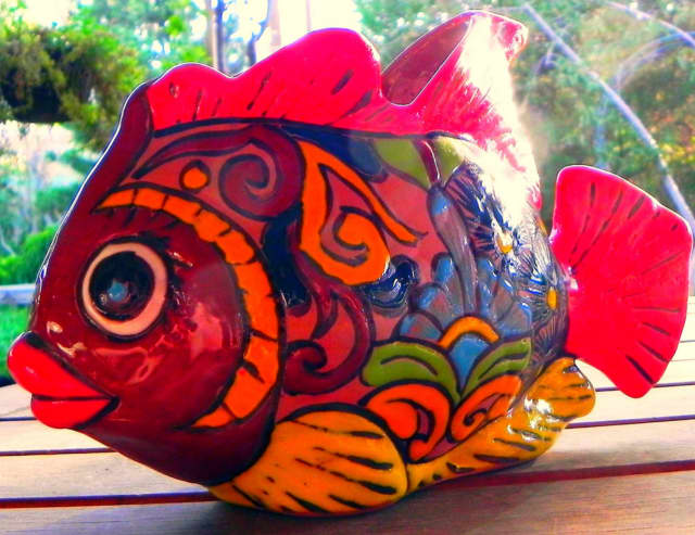 Kids can create ceramic fish at Artists' Collective of Hyde Park on July 30 and Aug. 6.