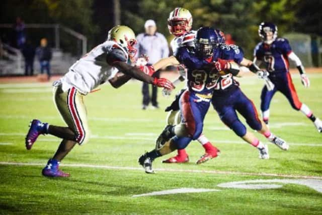 The New Fairfield Rebels are among the teams advancing to the semifinals in the CIAC Football Playoffs.