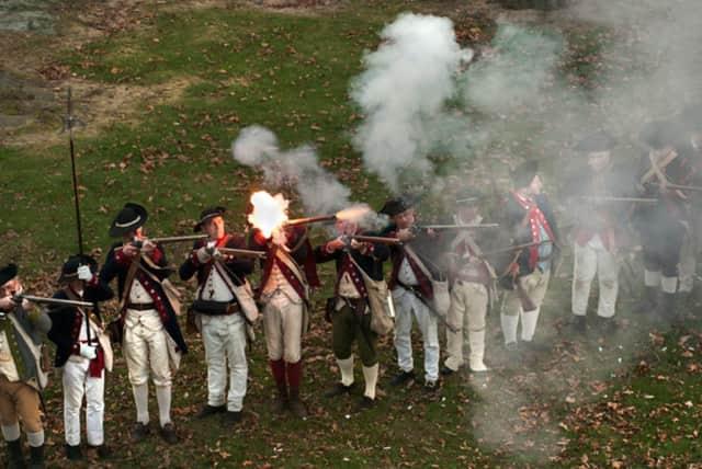 The Fort Lee Historical Society will reenact General Washington's retreat on Nov. 21.