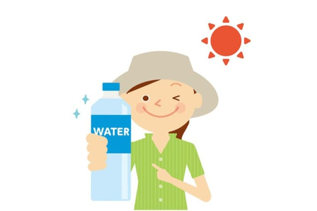 Drinking plenty of water is one way to prevent heat stroke this summer.