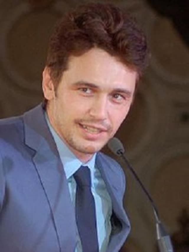 Actor James Franco was filming his new HBO series in Tappan.