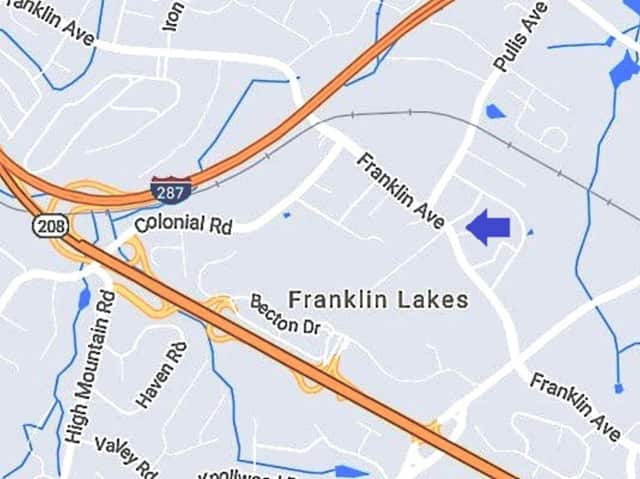 The Franklin Lakes Ambulance Corps responded along with police.