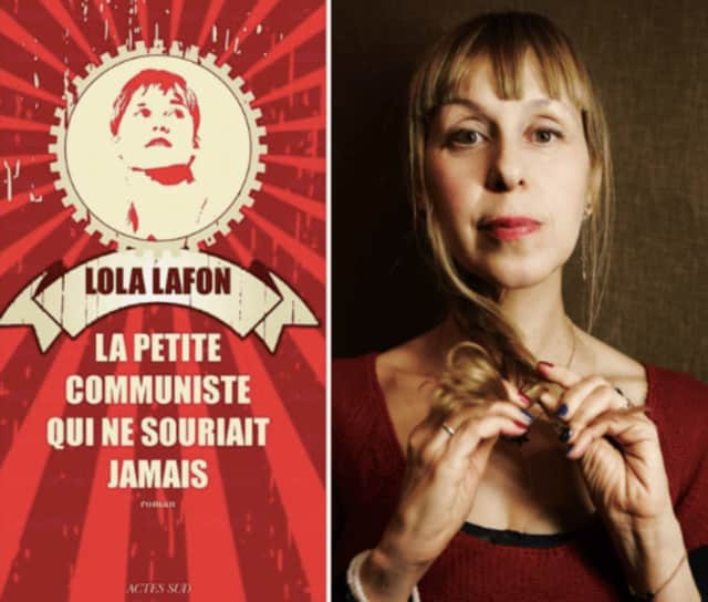 Lola Lafon, the author of a book about Olympic gymnast  Nadia Comăneci is coming to l'Alliance Française de Westchester on Nov. 1.